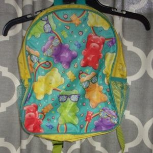 Other - kids gummy bear backpack